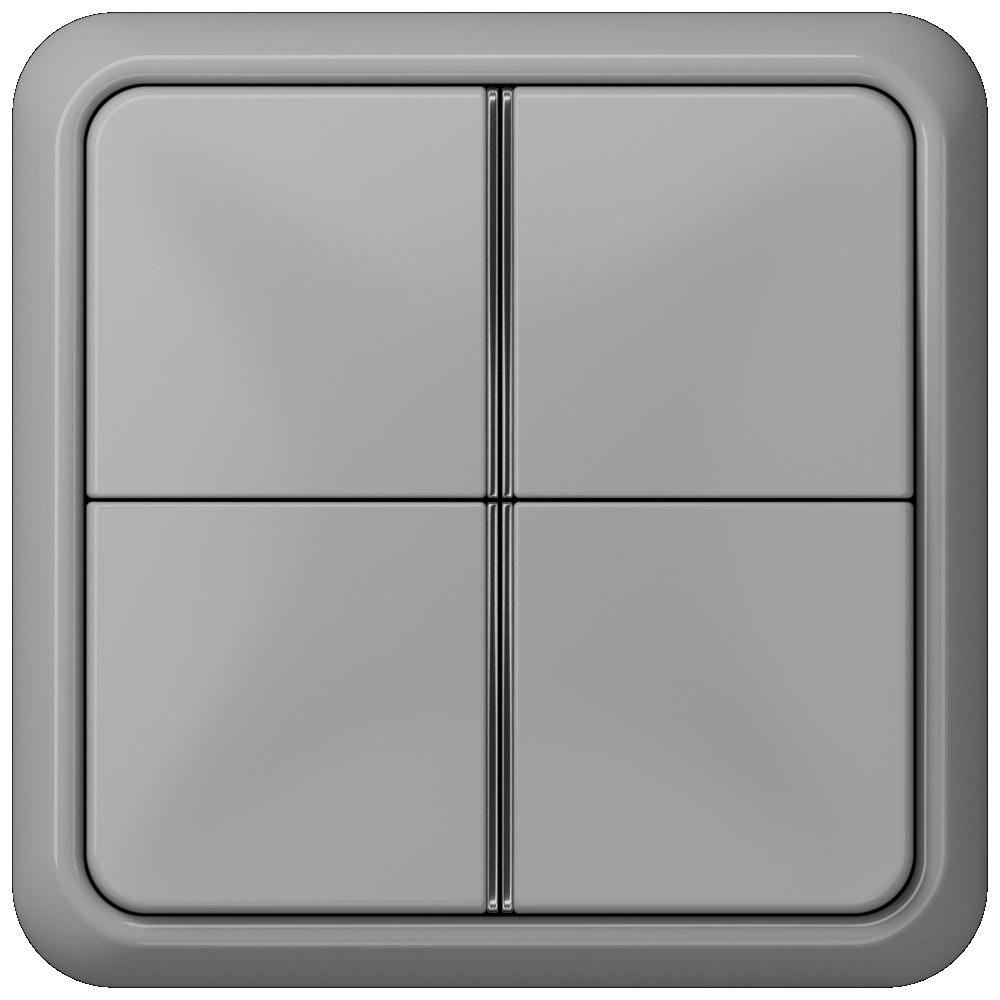 JUNG_CD500_grey_4button