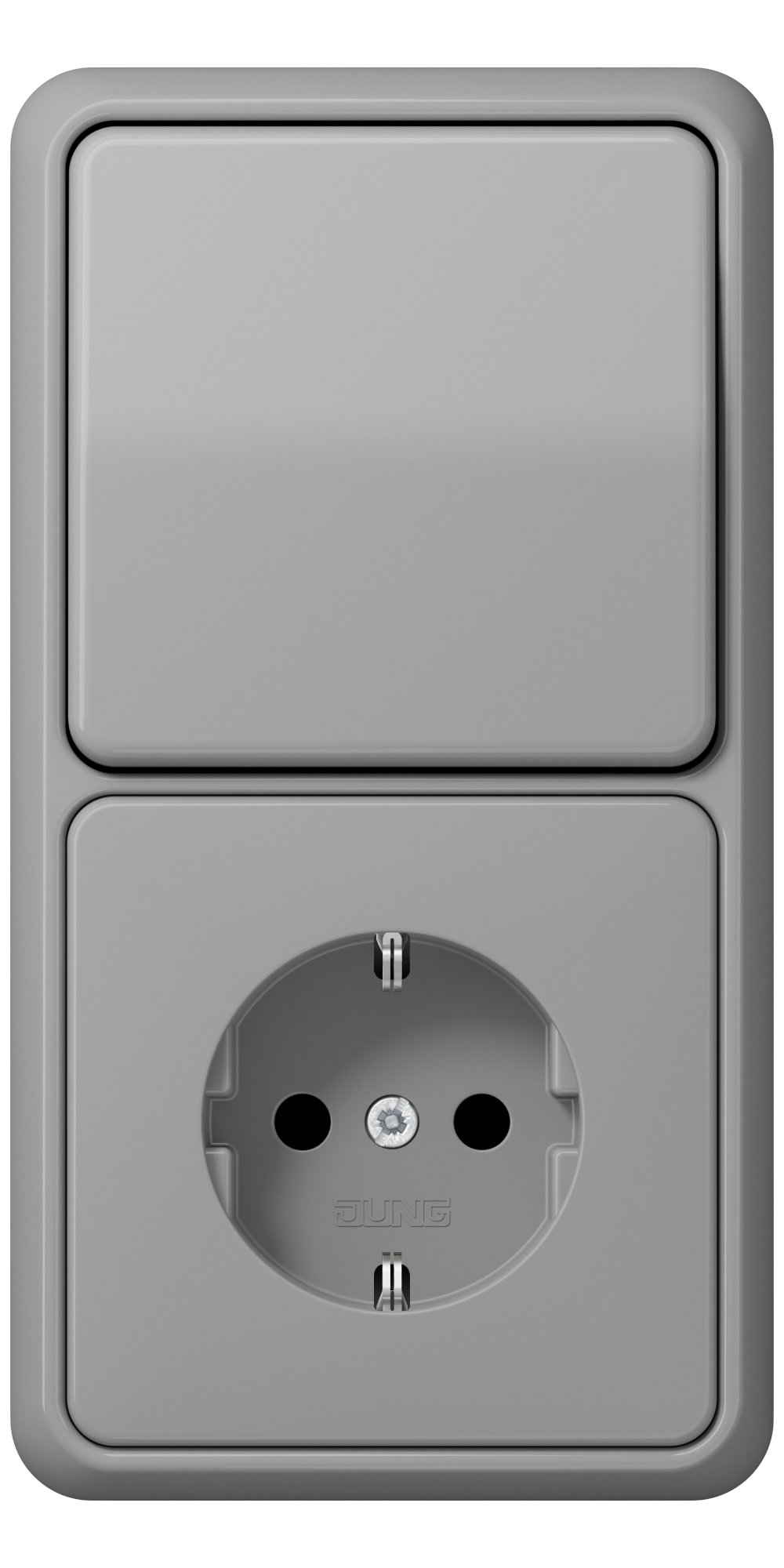 JUNG_CD500_grey_switch-socket