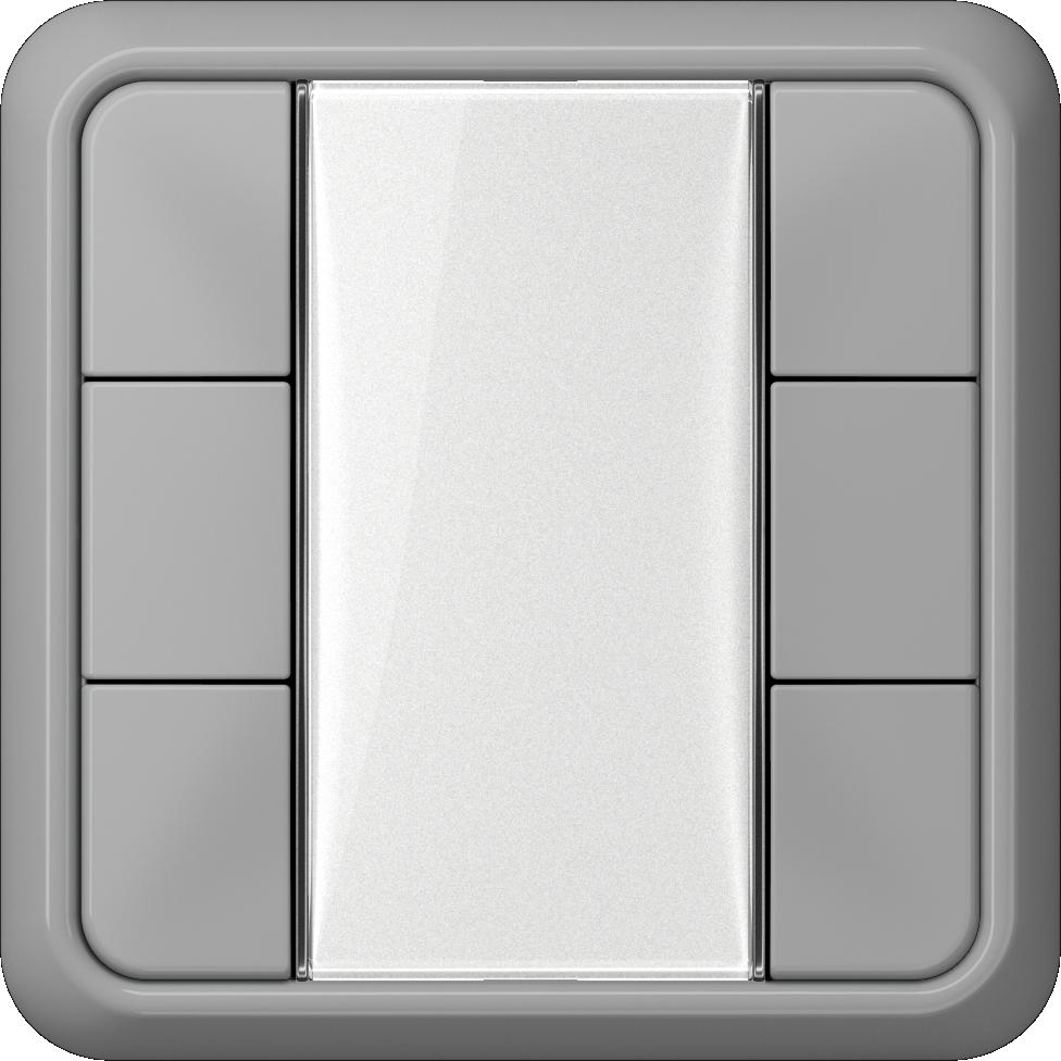 JUNG_CD500_grey_transparent_F50_3-gang