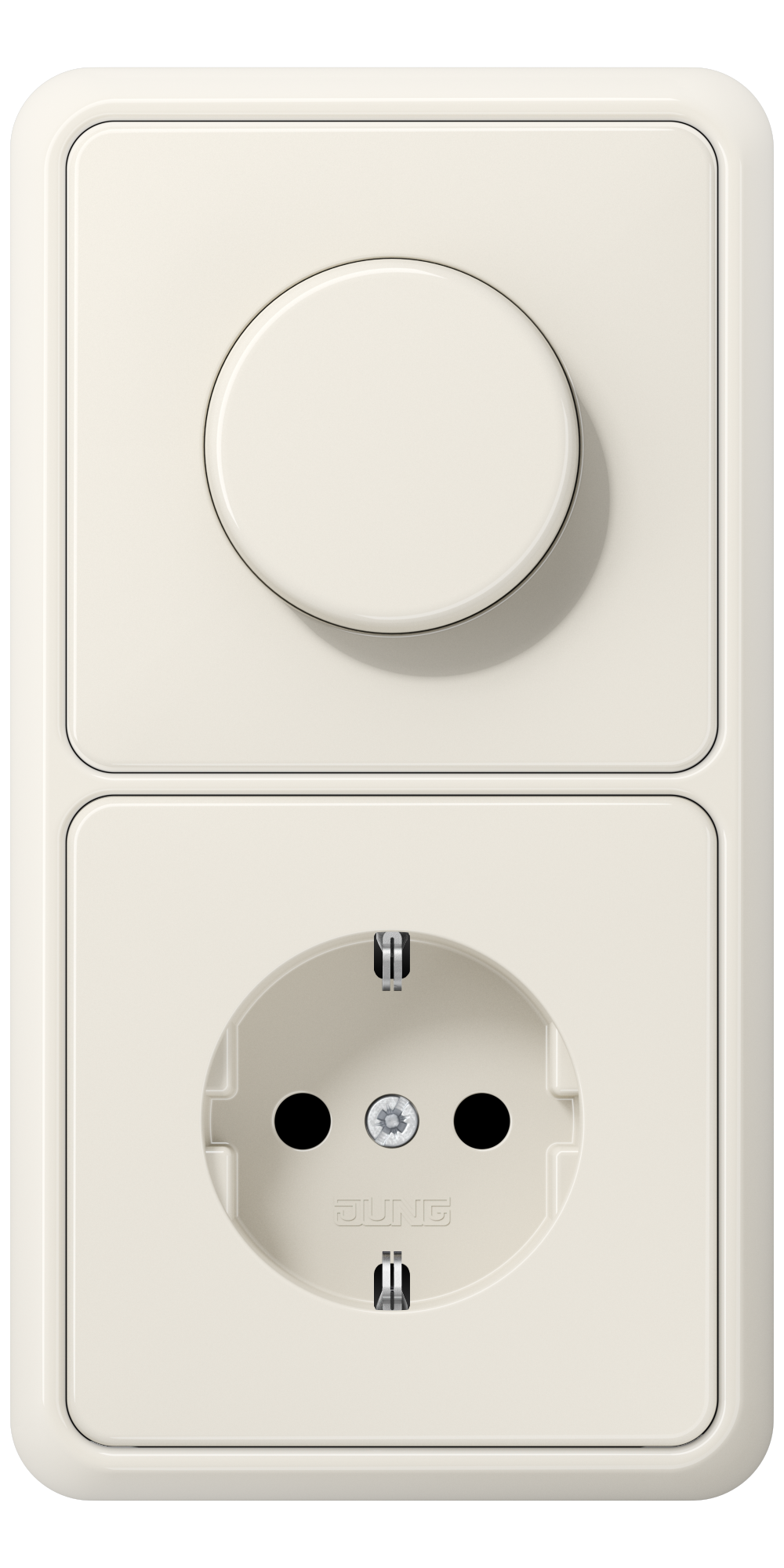 JUNG_CD500_ivory_dimmer-socket