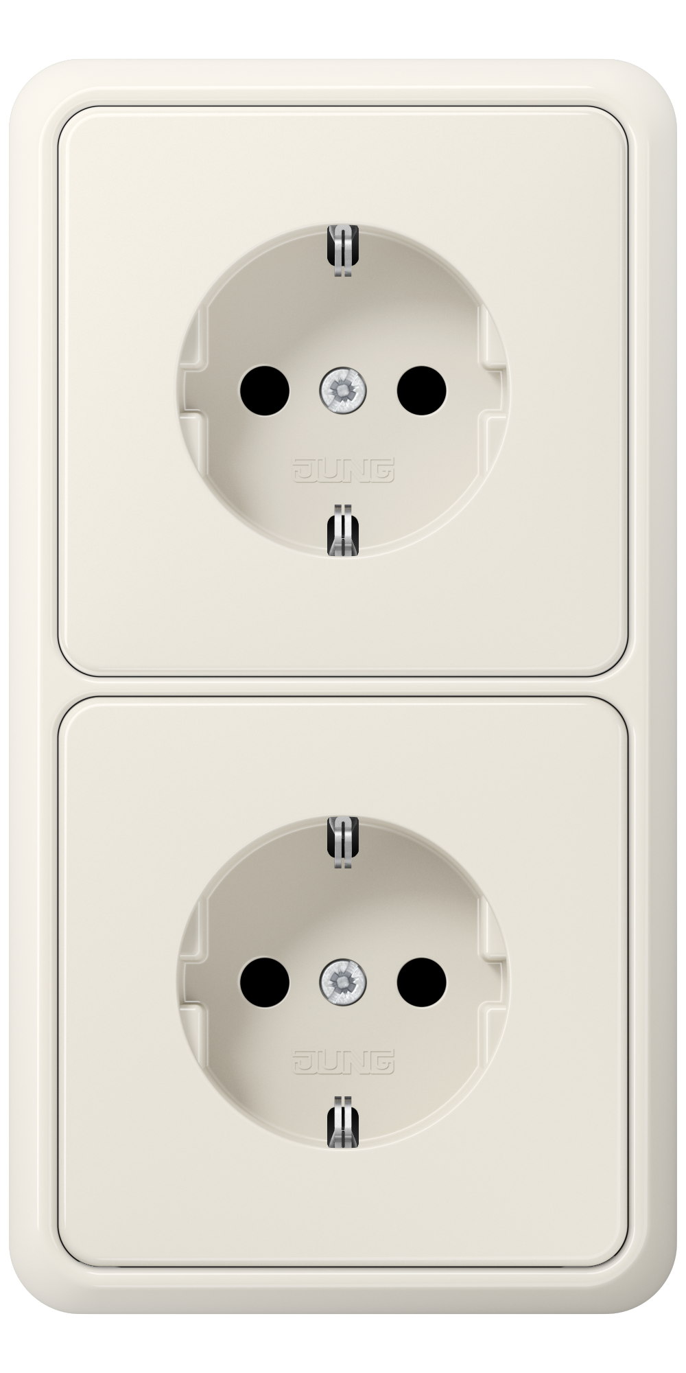 JUNG_CD500_ivory_socket-socket