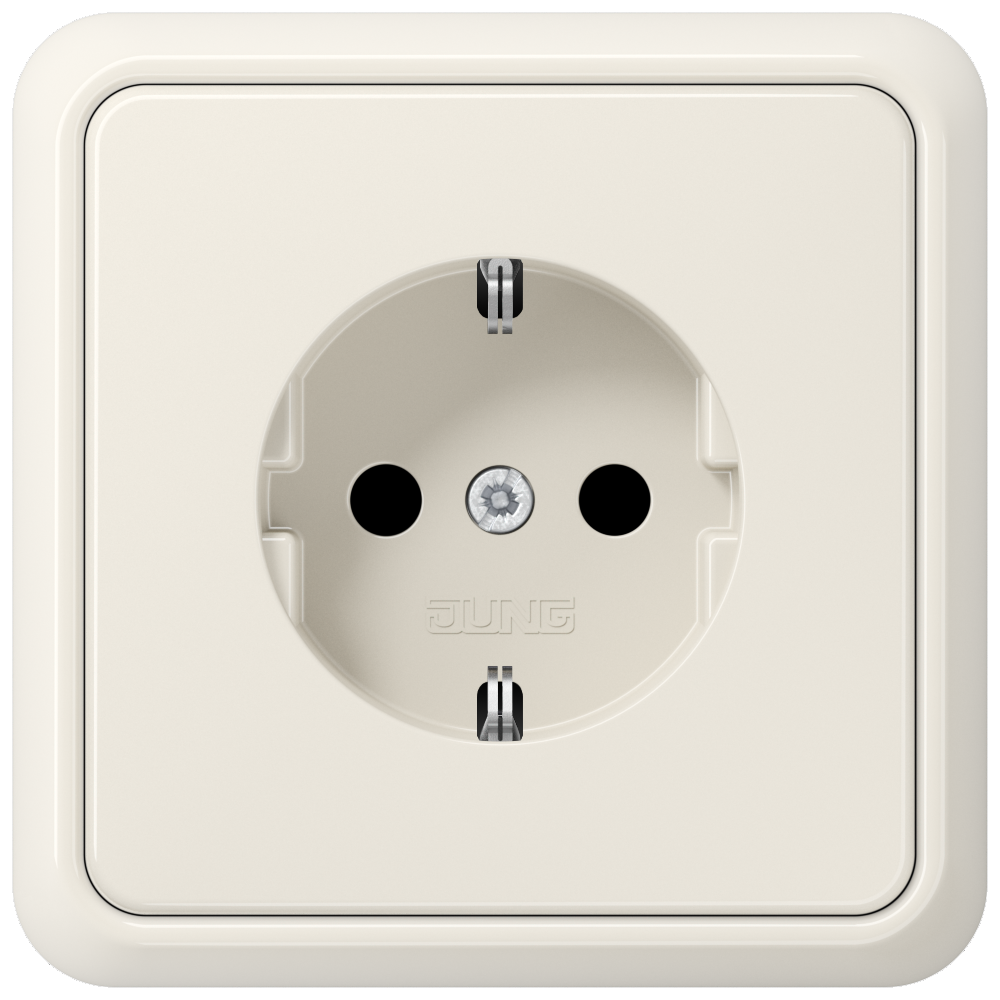 JUNG_CD500_ivory_socket