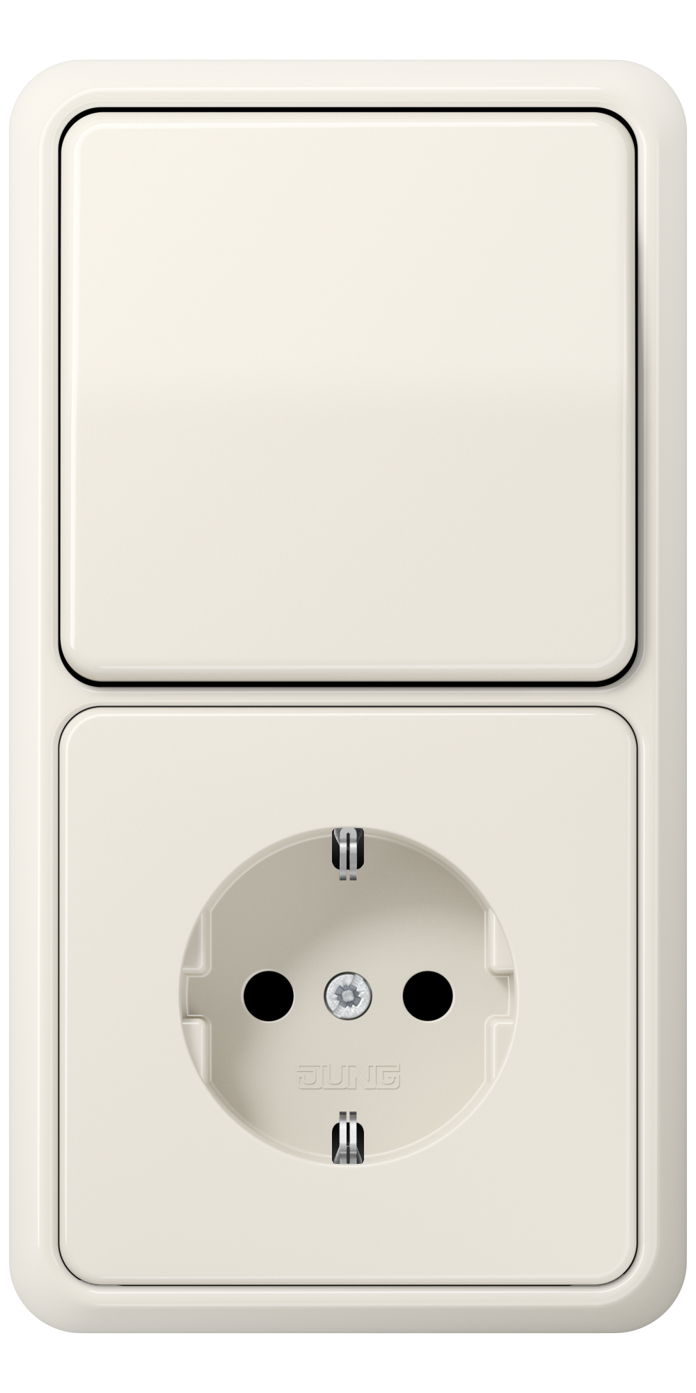 JUNG_CD500_ivory_switch-socket