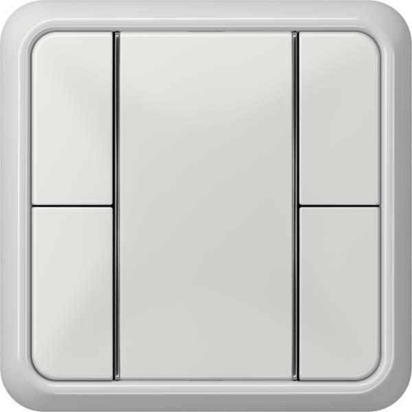 JUNG_CD500_light-grey_coloured_F50_2-gang
