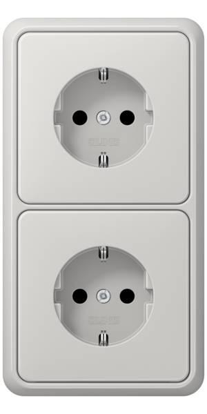 JUNG_CD500_light-grey_socket-socket