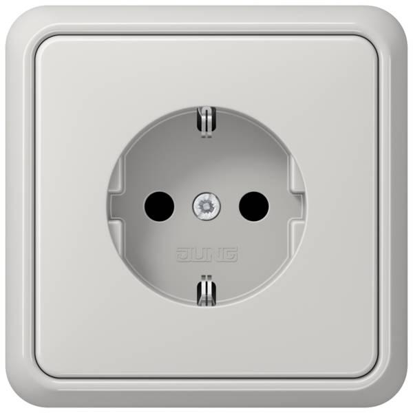 JUNG_CD500_light-grey_socket