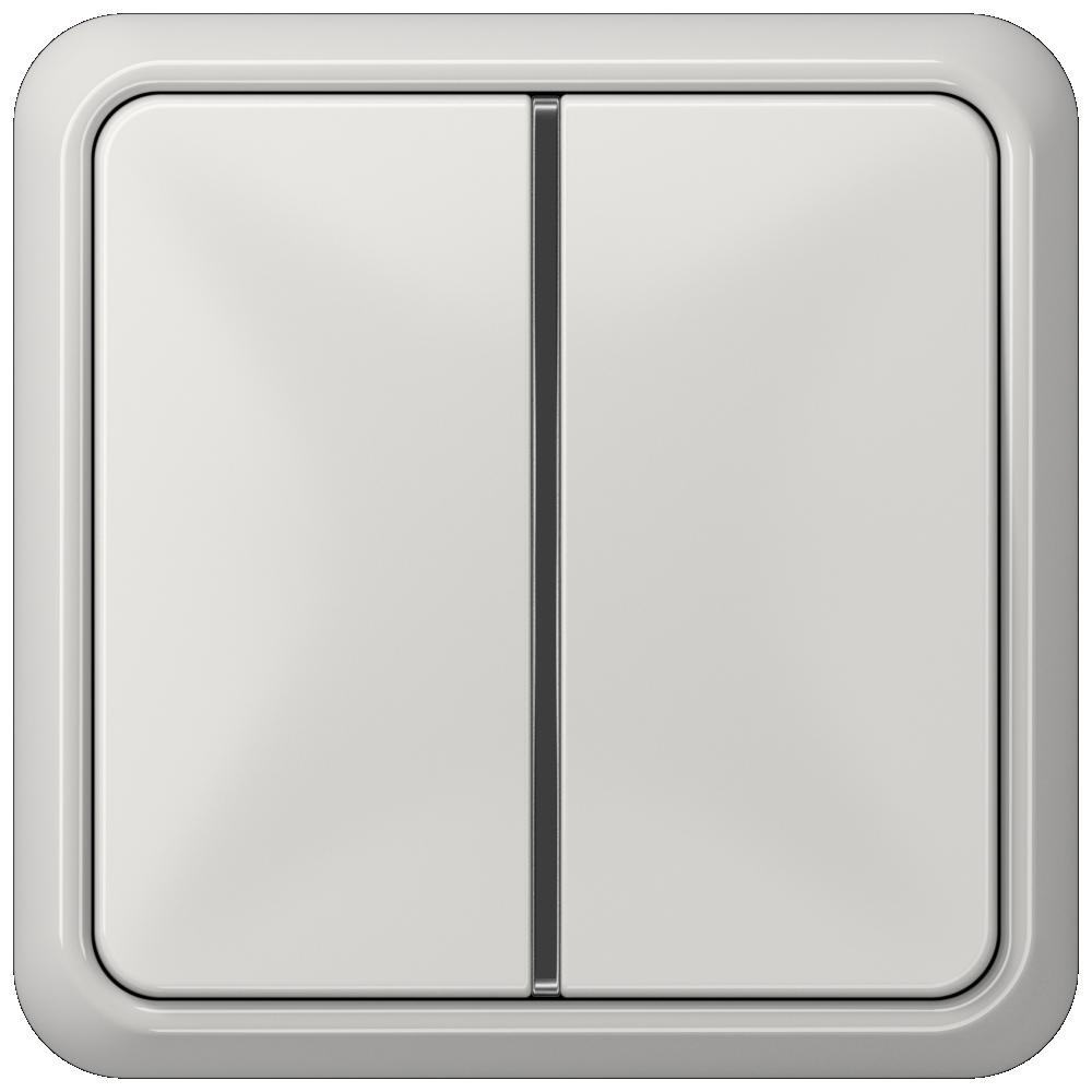 JUNG_CD500_light-grey_1button