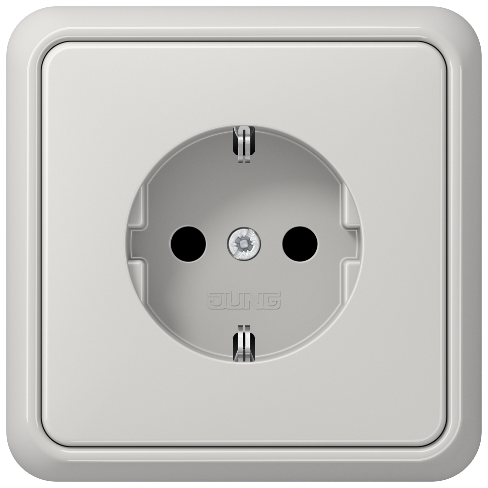 JUNG_CD500_light-grey_socket