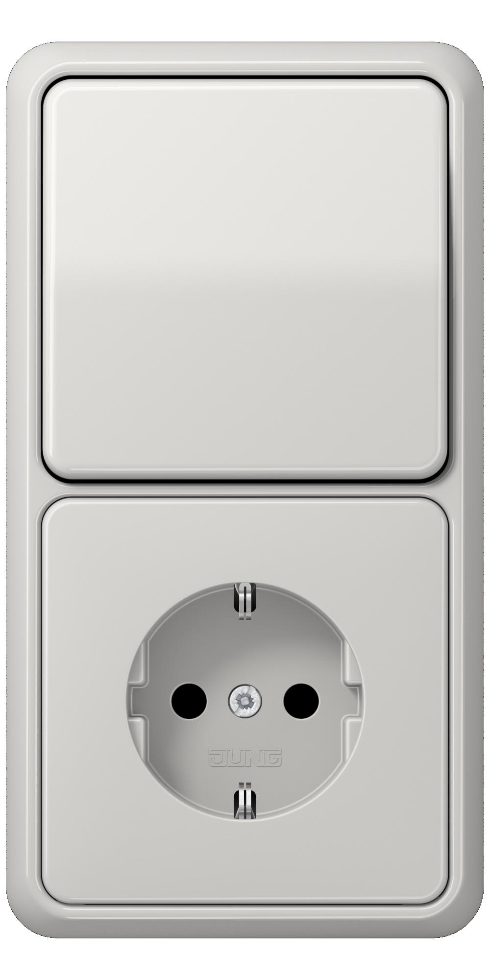 JUNG_CD500_light-grey_switch-socket