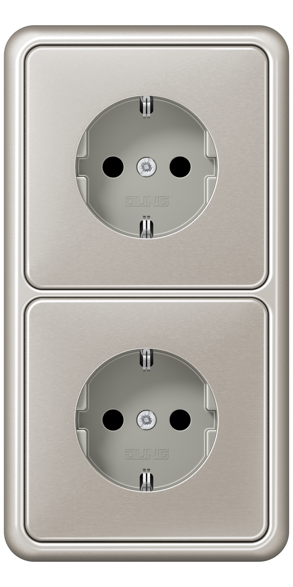 JUNG_CD500_platinum_socket-socket