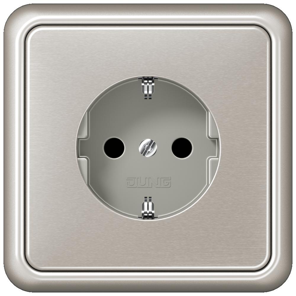 JUNG_CD500_platinum_socket