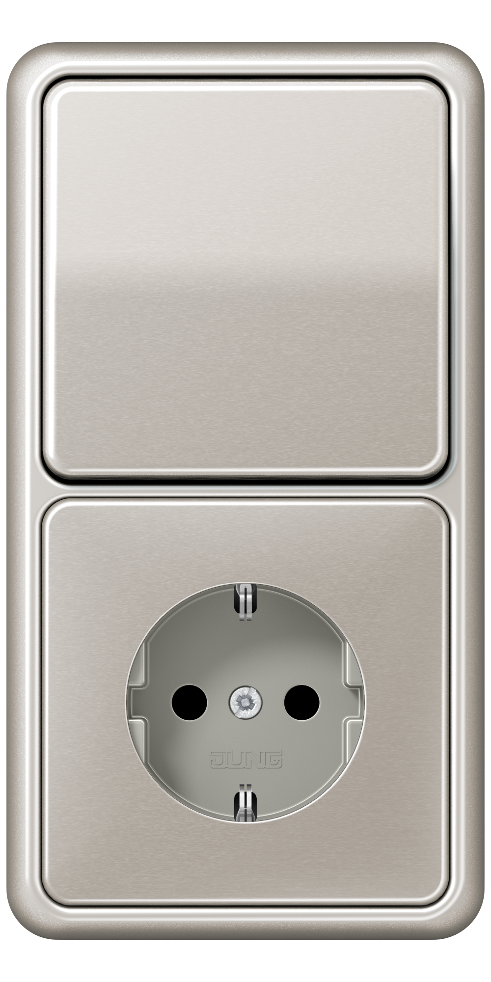 JUNG_CD500_platinum_switch-socket