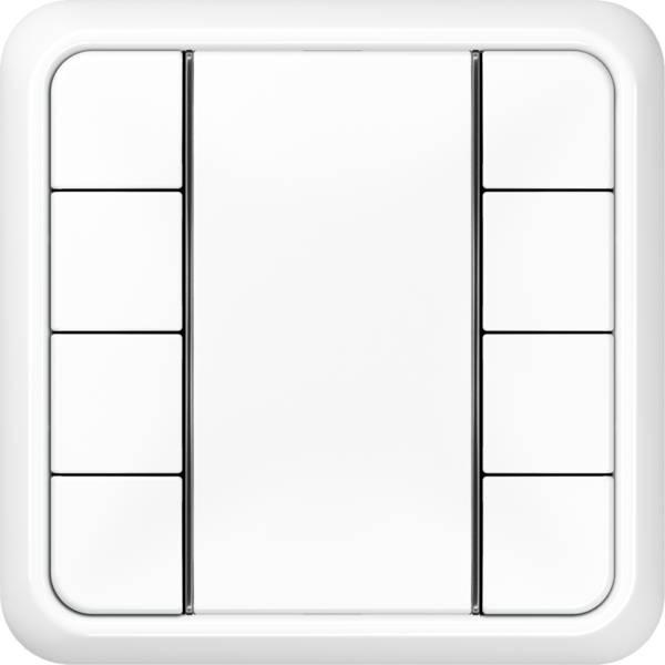 JUNG_CD500_white_coloured_F50_4-gang