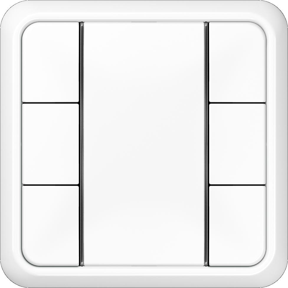 JUNG_CD500_white_coloured_F50_3-gang