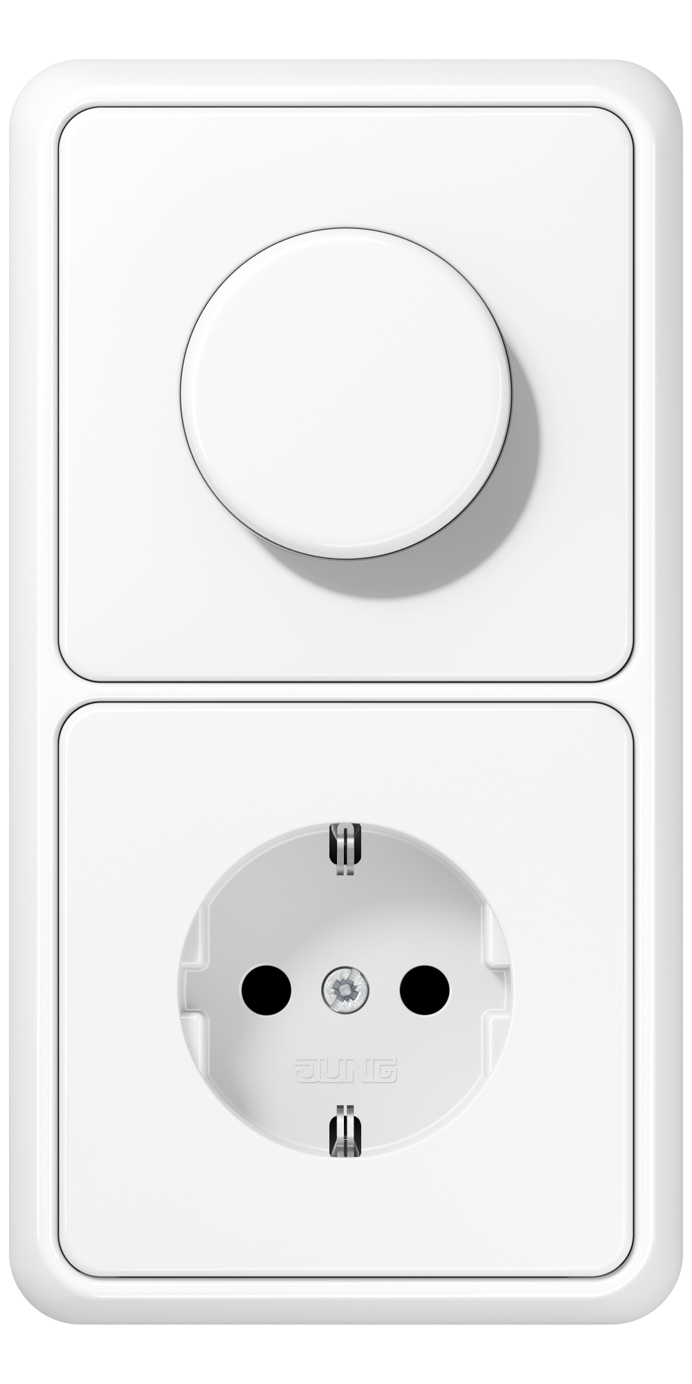 JUNG_CD500_white_dimmer-socket
