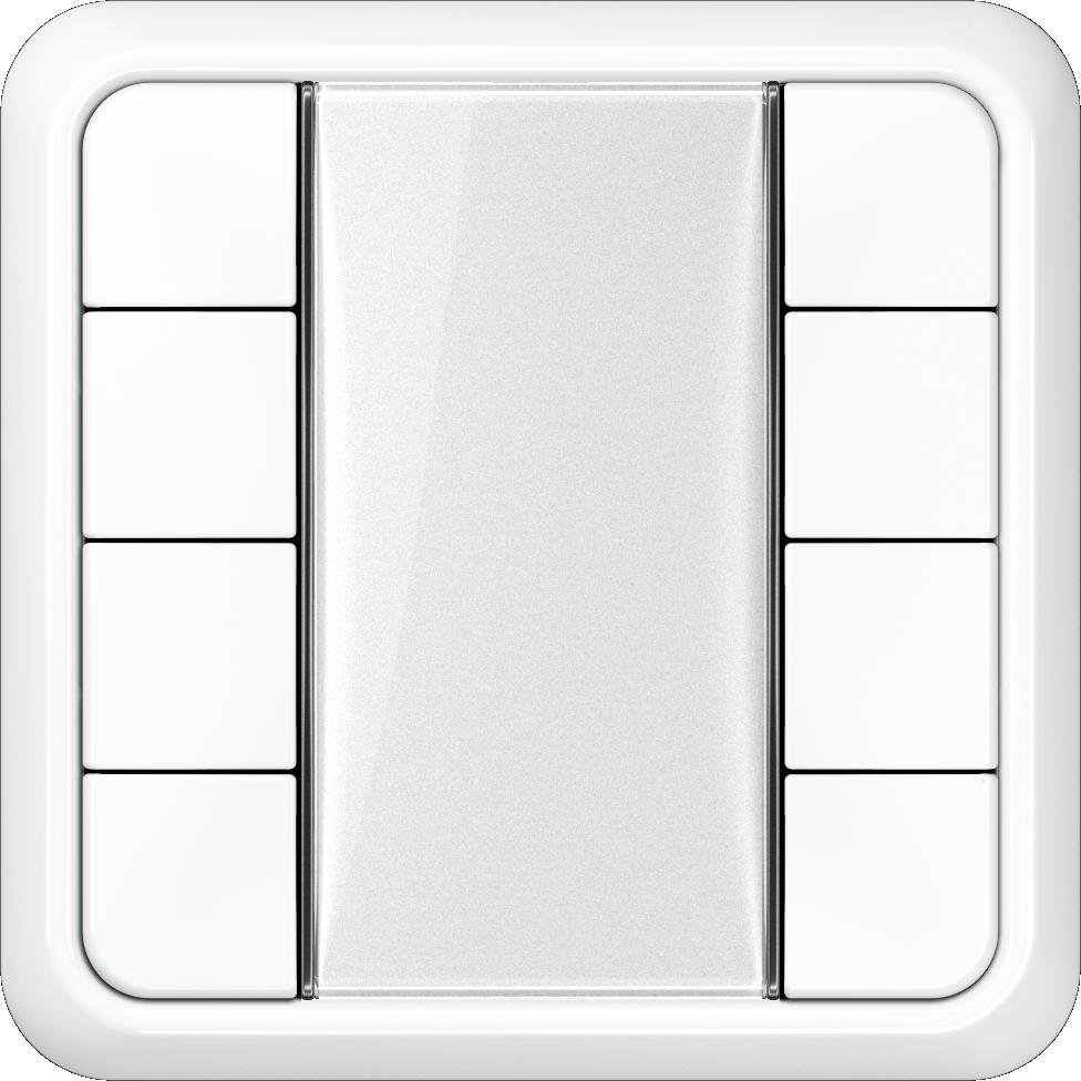 JUNG_CD500_white_transparent_F50_4-gang