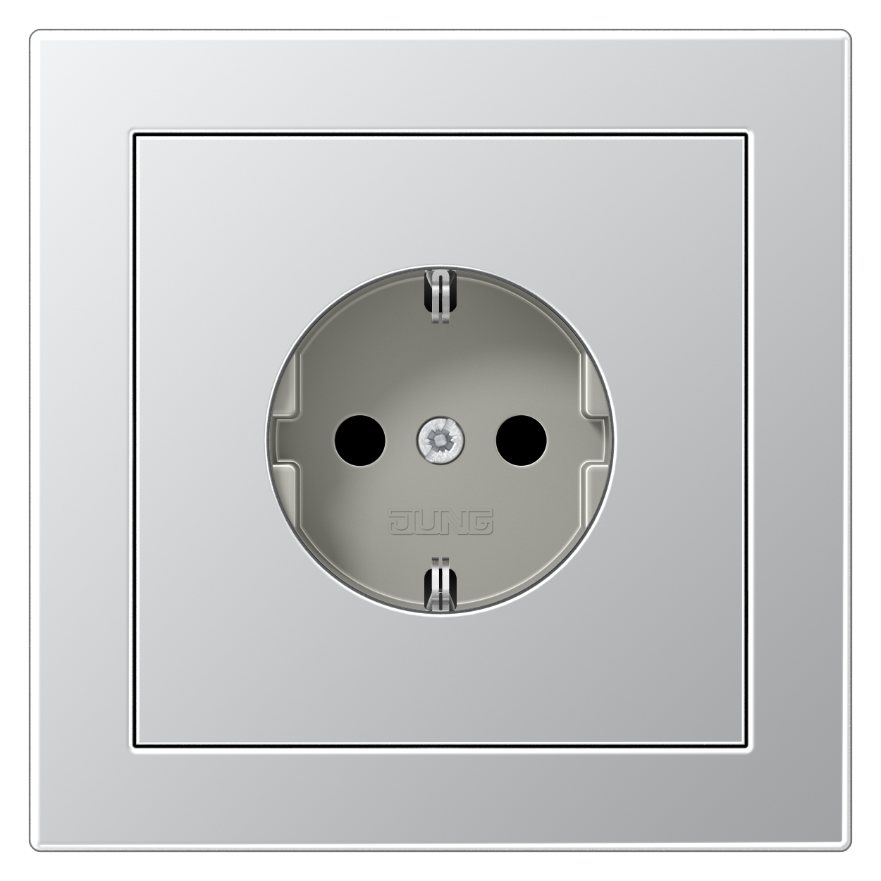 JUNG_LS_Design_aluminium_socket