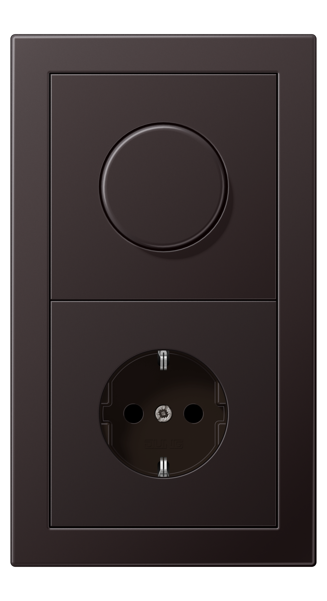 JUNG_LS_Design_aluminium_dark_dimmer-socket
