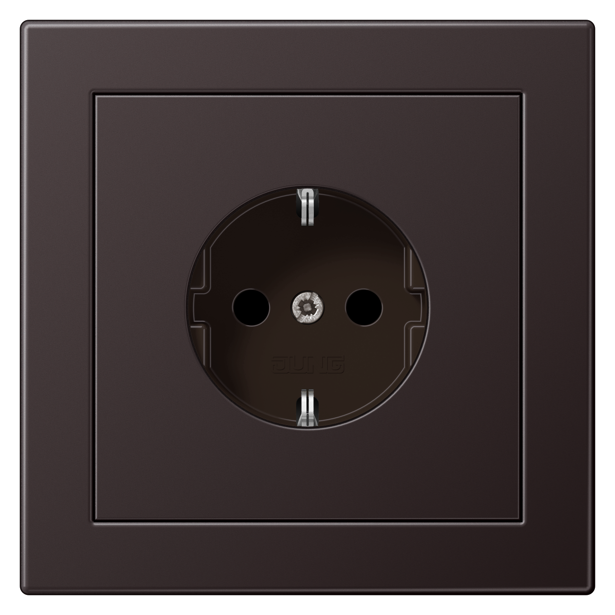 JUNG_LS_Design_aluminium_dark_socket
