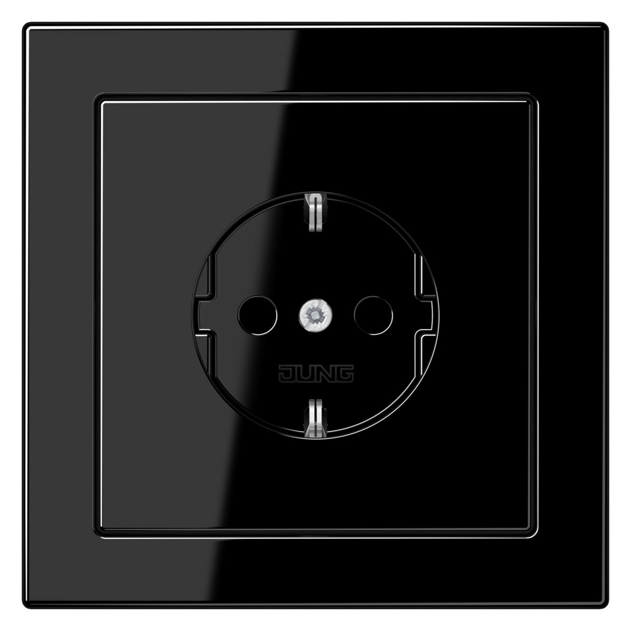 JUNG_LS_Design_black_socket