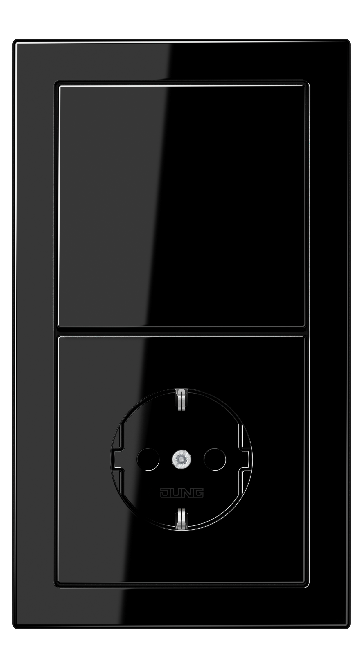JUNG_LS_Design_black_switch_socket