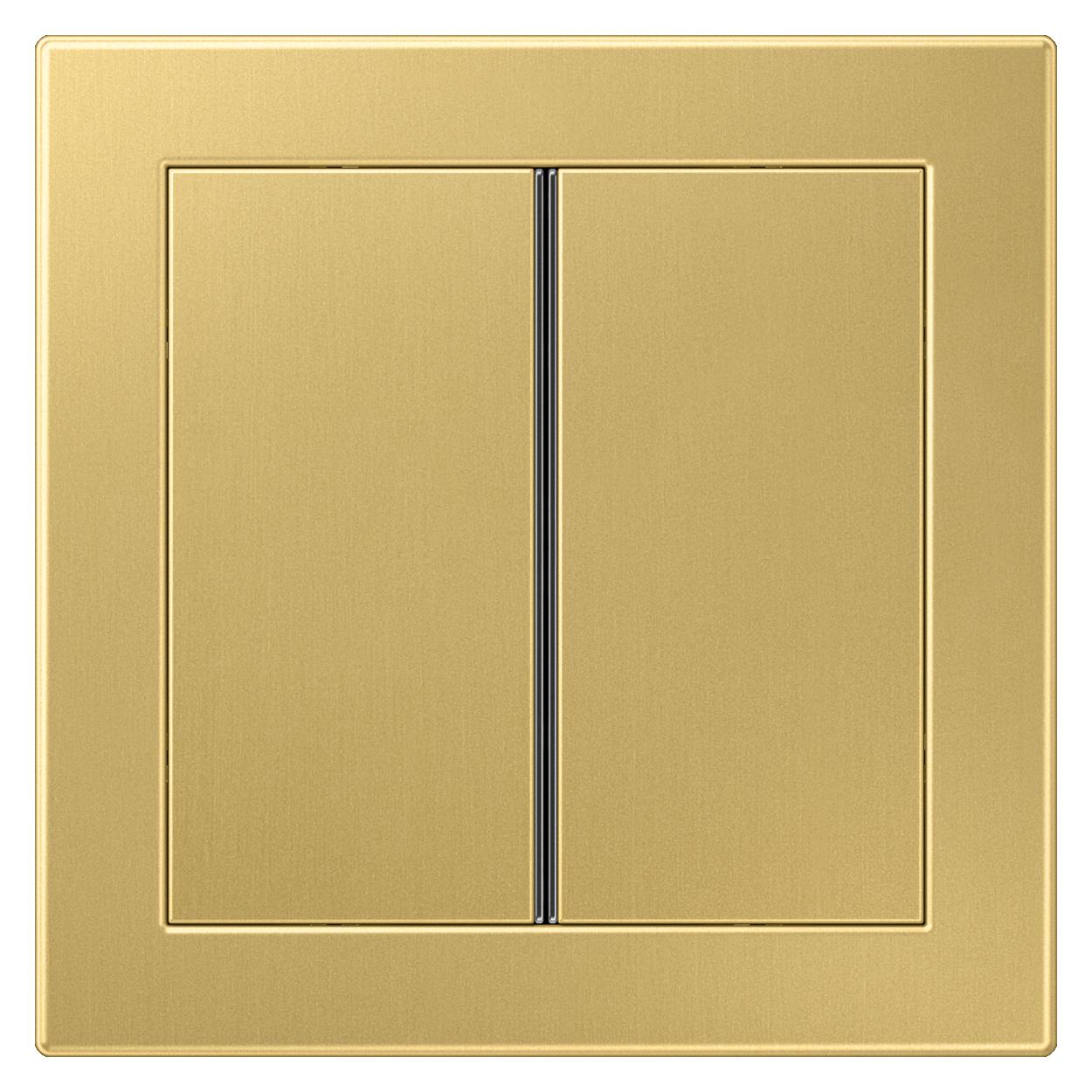 JUNG_LS_Design_classic_brass_2button