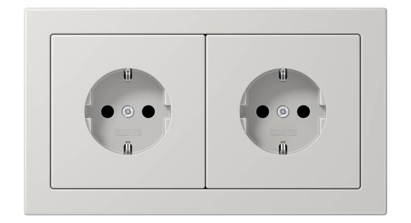 JUNG_LS_Design_light-grey_socket-socket_H