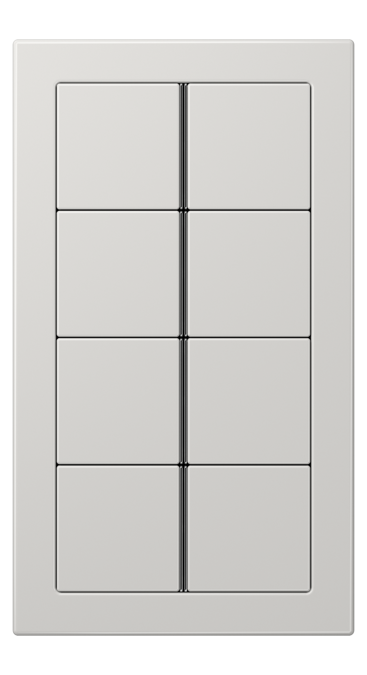 JUNG_LS_Design_light_grey_8button