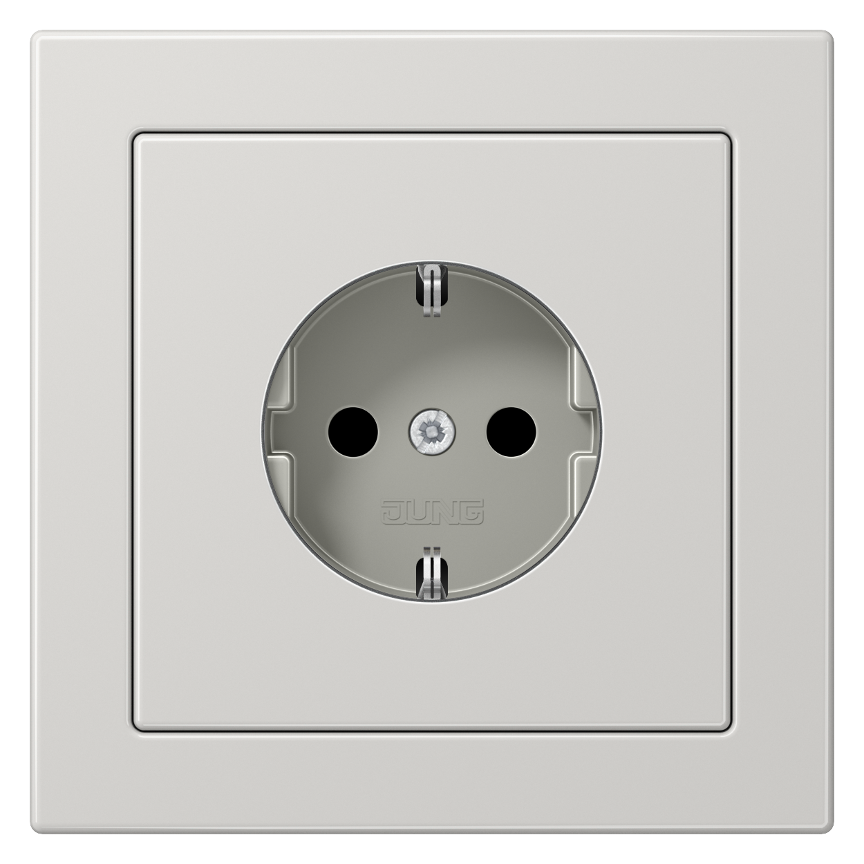 JUNG_LS_Design_light_grey_socket