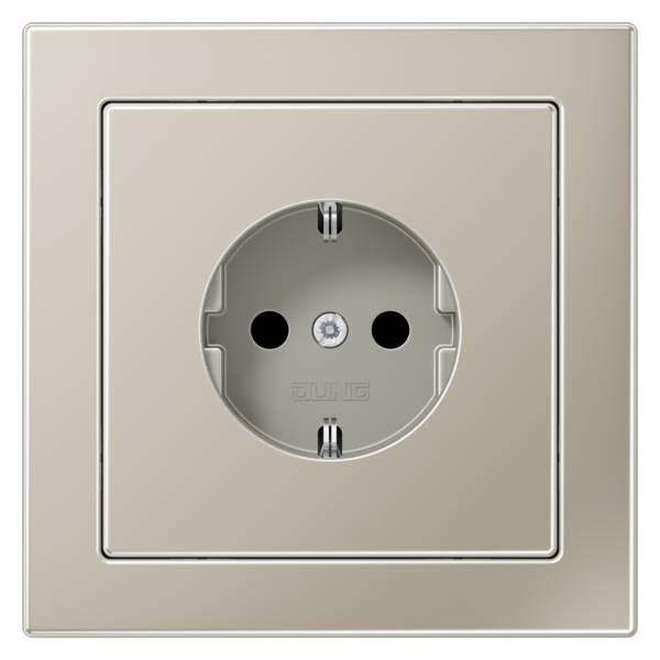 JUNG_LS_Design_stainless_steel_socket