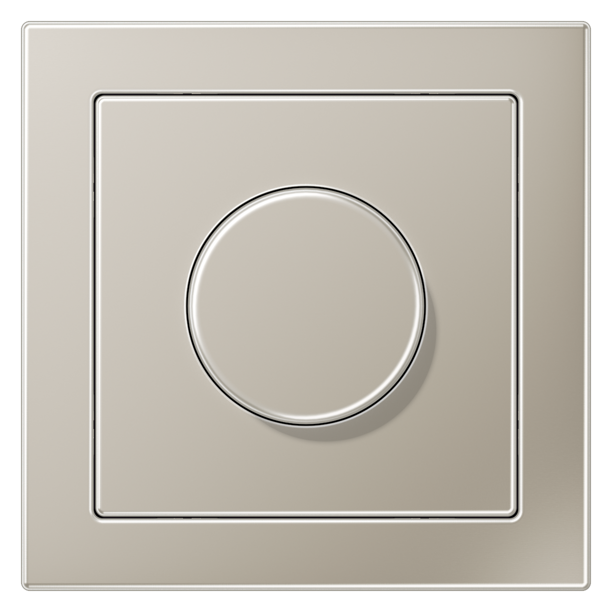 JUNG_LS_Design_stainless_steel_dimmer
