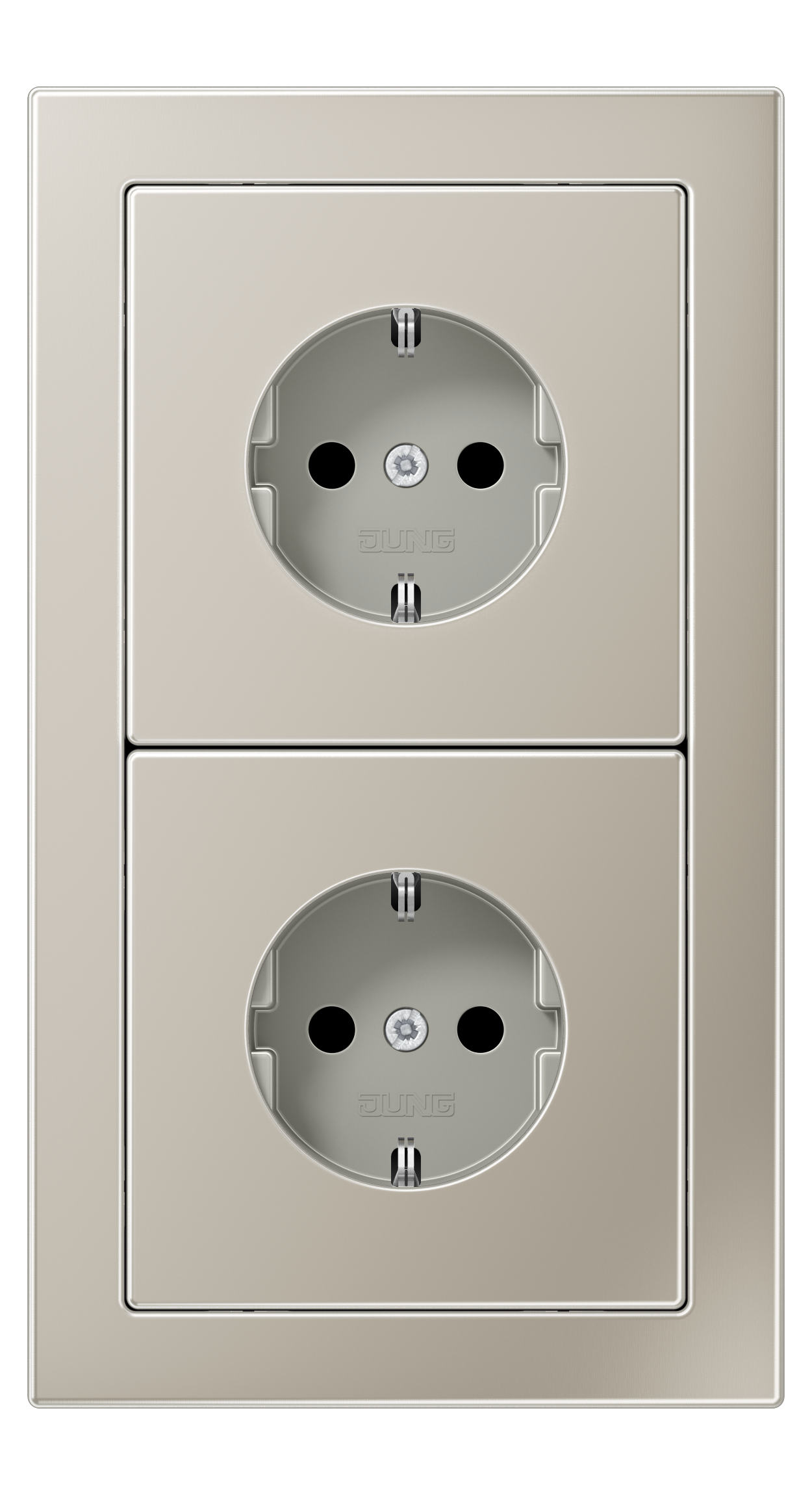 JUNG_LS_Design_stainless_steel_socket-socket