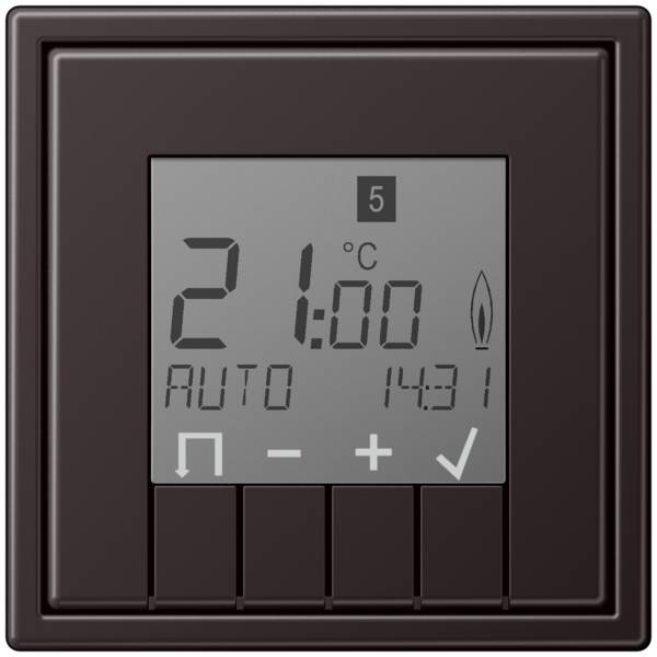JUNG_LS990_aluminium-dark_thermostat_display