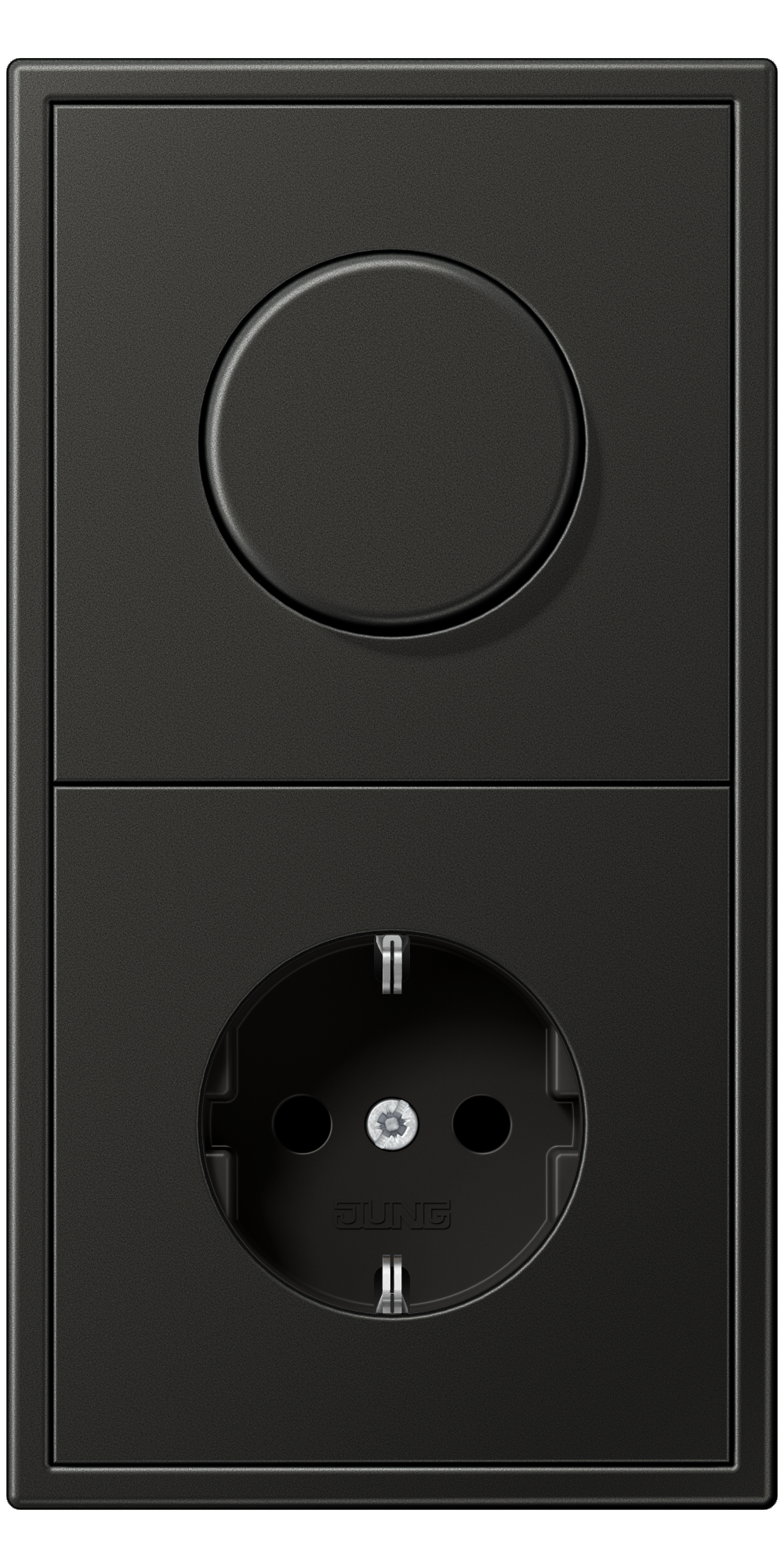 JUNG_LS990_anthracite_dimmer-socket
