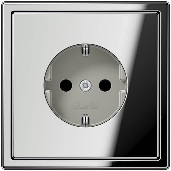 JUNG_LS990_chrome_socket