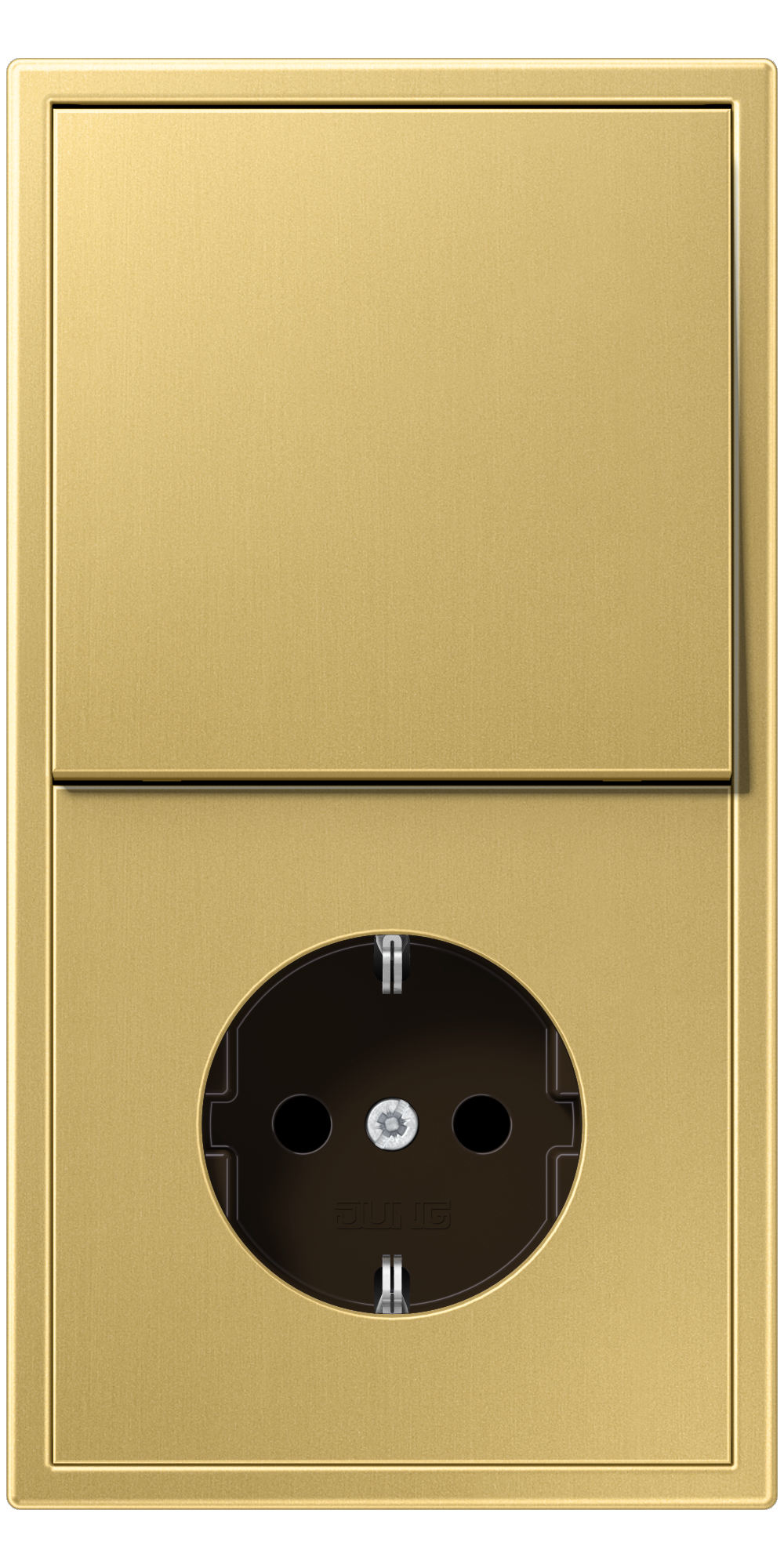 JUNG_LS990_classic_brass_switch-socket
