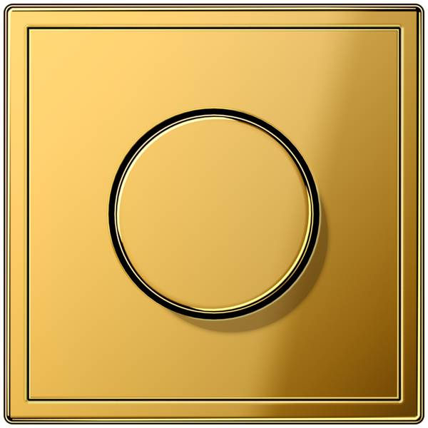 JUNG_LS990_gold-coloured_dimmer