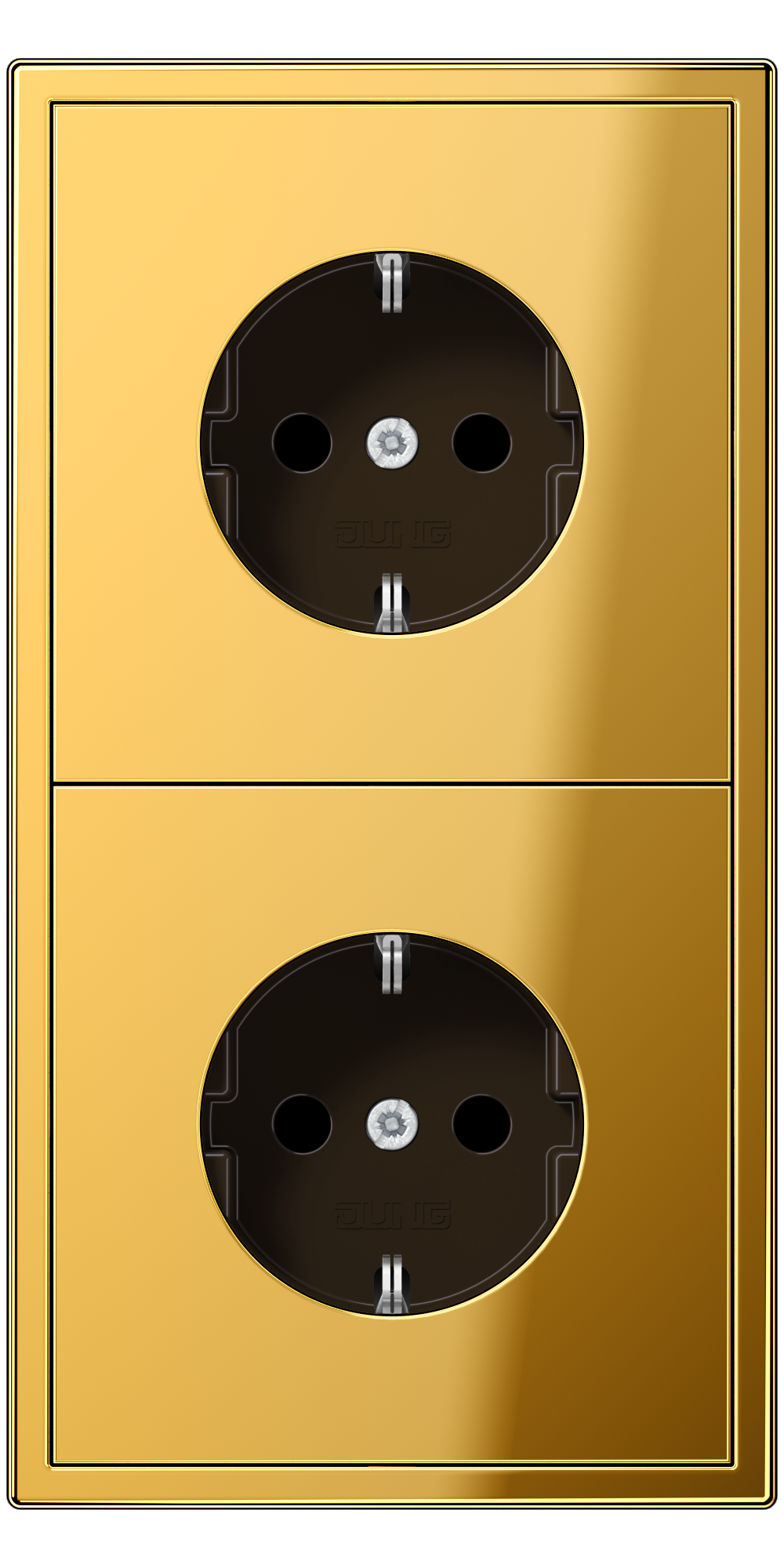 JUNG_LS990_gold-coloured_socket-socket