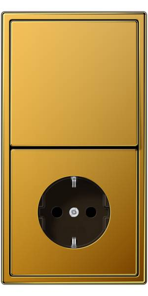 JUNG_LS990_gold-24-carat_switch_socket