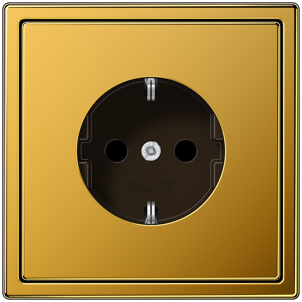 JUNG_LS990_gold-24-carat_socket