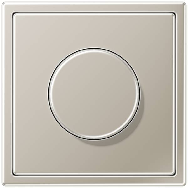 JUNG_LS990_stainless_steel_dimmer