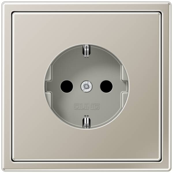 JUNG_LS990_stainless_steel_socket