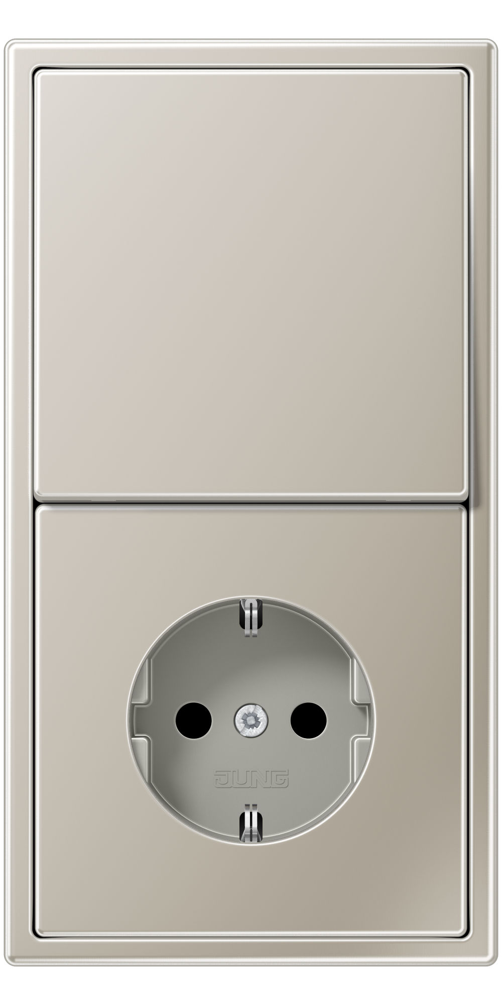 JUNG_LS990_stainless_steel_switch-socket