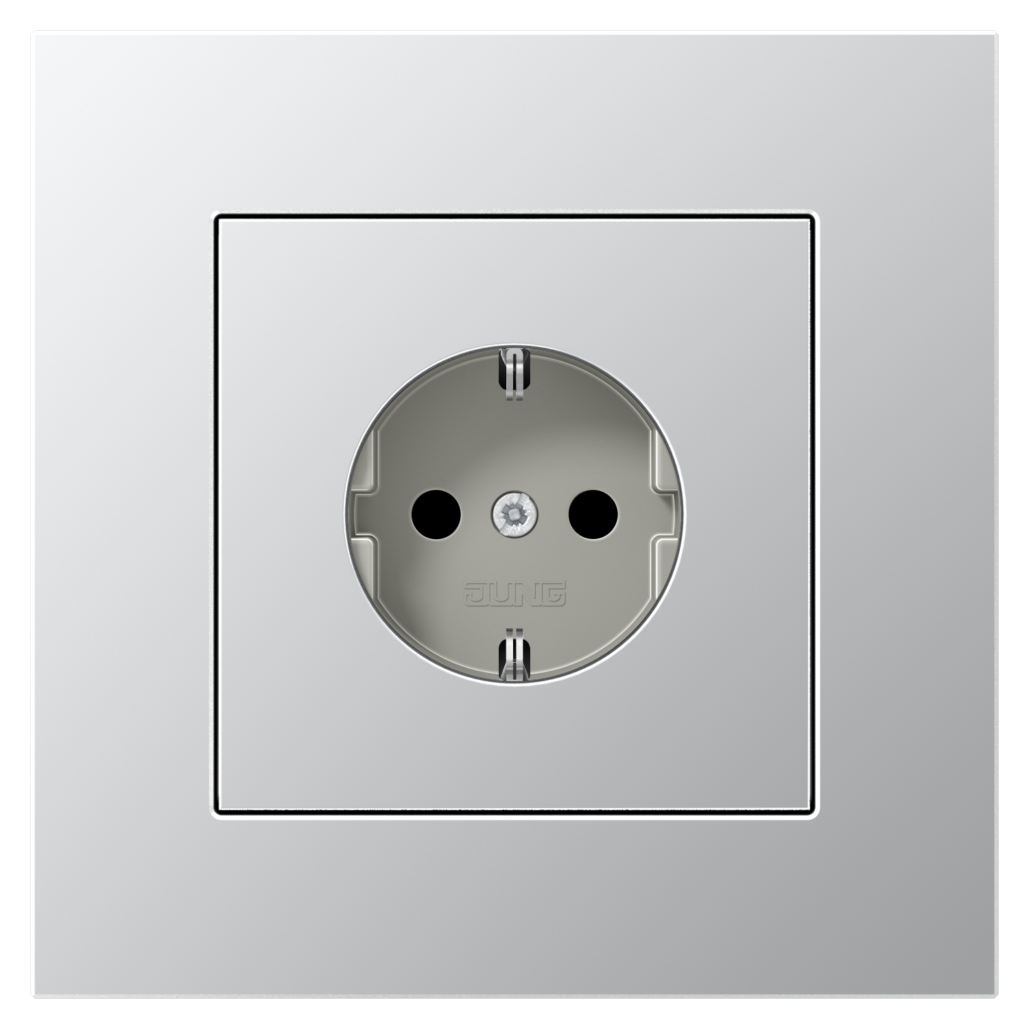 JUNG_LS_plus_aluminium_socket