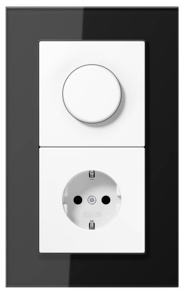 JUNG_LS_plus_black_white_dimmer-socket