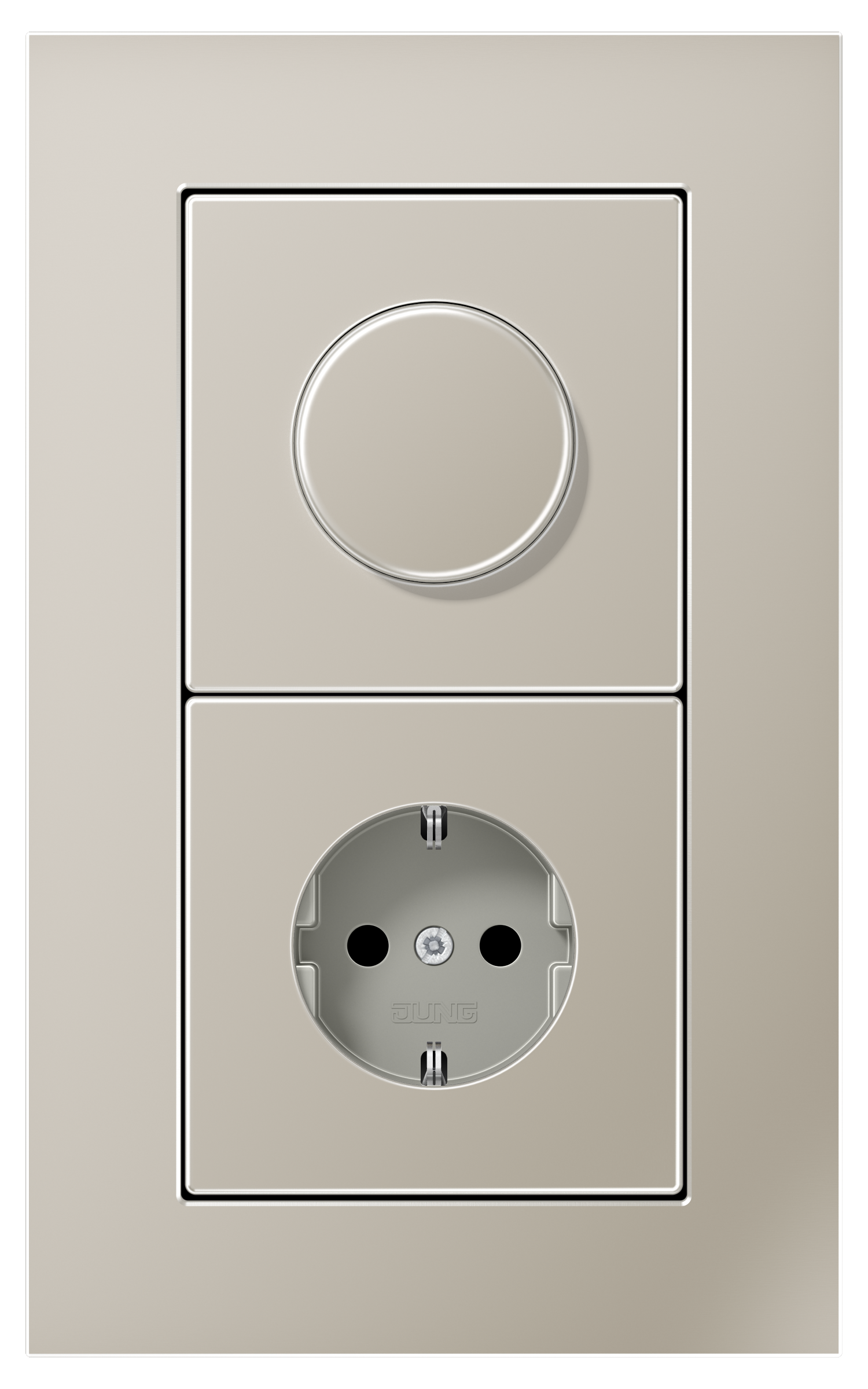 JUNG_LS_plus_stainless-steel_dimmer-socket