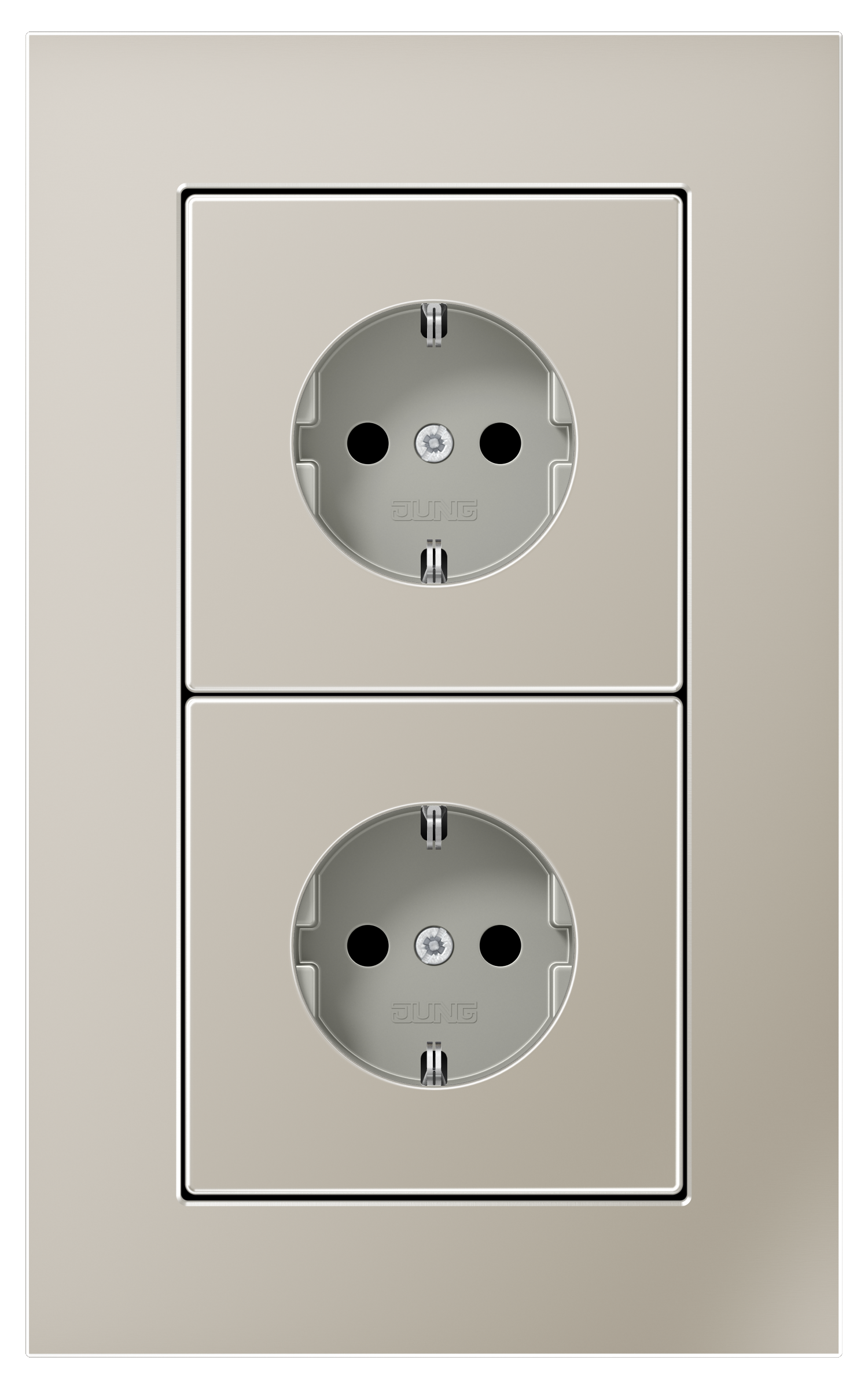 JUNG_LS_plus_stainless-steel_socket-socket