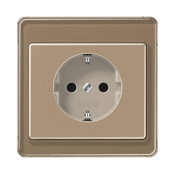 JUNG_SL500_gold-bronze_socket
