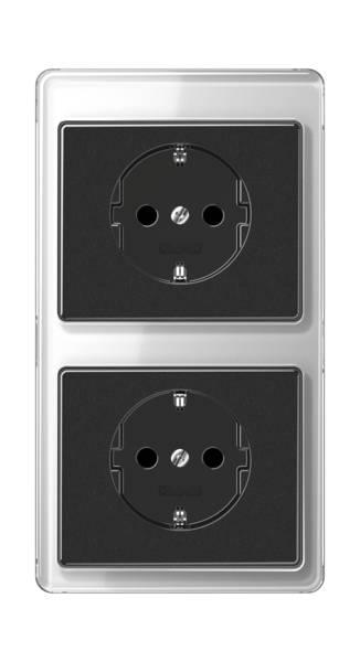 JUNG_SL500_silver-black_socket-socket