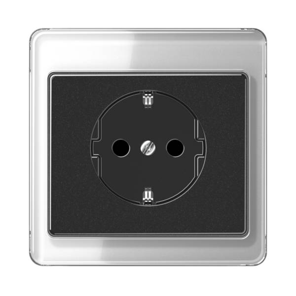 JUNG_SL500_silver-black_socket